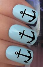 WATER NAIL TRANSFERS SHIP SEA BOAT SAILING ANCHORS TATTOO DECALS STICKERS *298