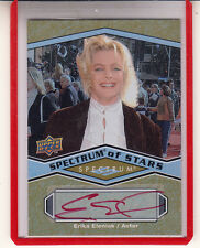 "2009 UD SPECTRUM OF STARS ERIKA ELENIAK RED ""BAYWATCH/PLAYBOY"" AUTO AUTOGRAPH"