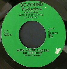 Funk Soul 45 Eddie Bo When you're fingers on the funk / The sun shines down