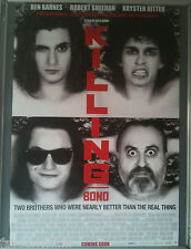 Cinema Poster: KILLING BONO 2011 (One Sheet) Ben Barnes Pete Postlethwaite