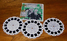 Viewmaster Packet B560 Captain Kangaroo and The Pie Machine 3 Reel Set 1957