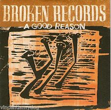 Broken Records - A Good Reason (1 track promo CD on 4AD )
