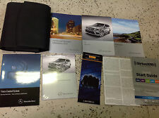 2014 MERCEDES BENZ GL CLASS MODELS Owners Operators Owner's Manual SET OEM 2014