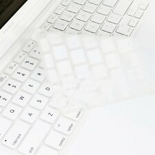 WHITE Silicone Keyboard Cover for Macbook White 13""