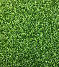 RK46 Green Grass Turf Sports Cave Ball Field Football Cotton Fabric Quilt Fabric