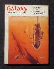 1954 July GALAXY Science Fiction Digest Magazine VG+ 4.5 Willy Ley
