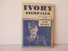VINTAGE 1934 IVORY STAMP CLUB BOOK WITH STAMPS - SEE DESCRIPTION - FREE SHIPPING