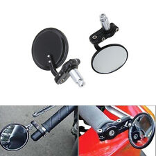 "2×Fold Hindsight Bar 3"" End Mirror For Yamaha R1 R6 FZ1 FZ6 XJR XV XVS WR Bikes"