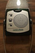 NEW Lantern Radio AM/FM FOLDING Flashlight LED Emergency Light
