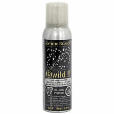 Jerome Russell B wild!!! Temporary Hair and Body Glitter 3.5 oz - Silver