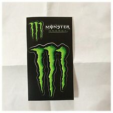 3 Stickers Autocollants Monster Energy Déco Bike Bmx Skate Snowboard Moto cross