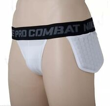 Mens Nike Pro Combat Padded Hip Tail Compression Jock Strap Base Layer XL 376834