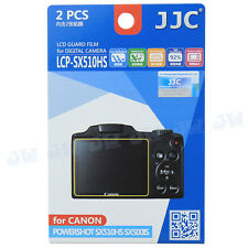 JJC LCD Guard Film Camera Screen Protector For Canon Powershot SX510HS SX500IS