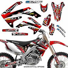 2005 2006 2007 CRF 450X GRAPHICS KIT 450 X DECALS DECO STICKERS FITS HEADLIGHT