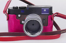 Handmade in Germany Holz Half Case Protektor f. Leica M-P (Typ 240) pink
