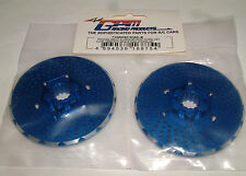 TRAXXAS X-MAXX 7076 GPM BLUE ALUMINUM FRONT WHEEL HEX WITH BRAKE DISK TXM006F