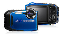 Fujifilm FinePix XP80 Waterproof Digital Camera with 2.7-Inch LCD Blue - NEW