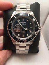 Invicta 20433 Men's Pro Diver Black Dial Steel Bracelet Automatic Dive Watch-H41