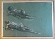 Large drawing by Sir Edward John Poynter 1902, Colored Chalks on Paper! SUPERB!