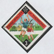 Ireland - Thomond (906) 1967 Gypsy Moth opt DOUBLED, one INVERTED on 3d u/m