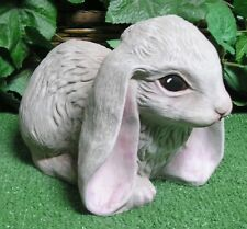 French Lop Up Cotton Tail Baby Bunny Rabbit Latex Fiberglass Mold Concrete
