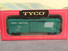 HO 1:87 Old Vintage Tyco Red Box No. 311X 40' Steel Box Car PENN CENTRAL PC New