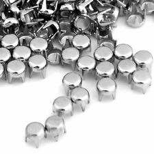 500 x Metal Studs Spots Rivets for Belt Clothing New Hot 0.16""