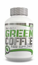 BioTech USA GREEN COFFEE 120 cap Diet pils slim WEIGHT LOSS BEAN EXTRACT