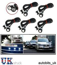 10 X 12V CAR BIKE 4X4 WHITE LED 18MM EAGLE EYE DAYTIME RUNNING DRL LIGHTS LAMP