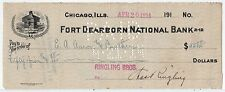 CHARLES RINGLING Signed Autographed Check, Ringling Brothers, Mr Charlie JSA LOA