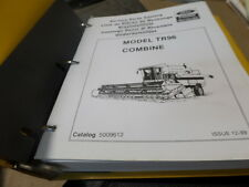 NEW HOLLAND / FORD TR96 COMBINE PARTS CATALOG / MANUAL