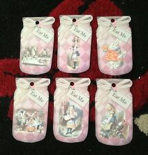 6 Eat Me Bottle Tag - Alice In Wonderland