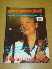 JAZZ JOURNAL INTERNATIONAL VOL 54 #5 2001 MAY REBECCA KILGORE SIDNEY BECHET