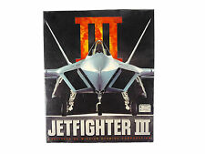 Vintage Jetfighter III 3 MS Dos PC 1996 Flight Sim Complete CD Brand NEW Sealed