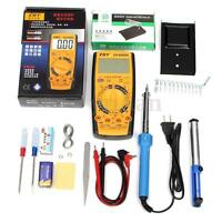 30W/40W/60W DIY Electric Soldering Iron Tools Kit Pump Multimeter Stick Set 220V