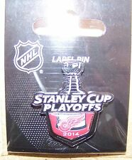 2014 Stanley Cup Playoffs logo lapel pin NHL SC Detroit Red Wings