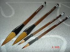 4 CHINESE WOLF HAIR 2XL MS WRITING SUMI PAINTING BRUSH JAPANESE CRAFT ART TOOL