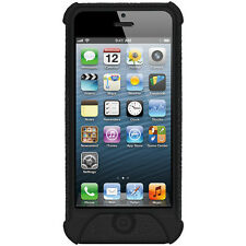 Amzer Silicone Skin Jelly Case Cover Fit for iPhone 5/5S/SE - Black
