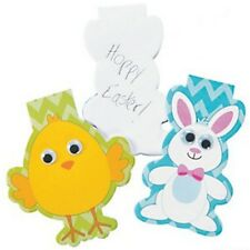 Pack of 12 - Easter Character Wiggly Eyes Notepads - Easter Party Bag Fillers