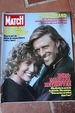 paris match n°1715 borg train la mort chantal goya 1982