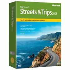 Microsoft Streets and Trips 2008 (B17-00389)