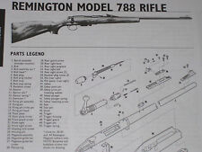 REMINGTON MODEL 788 RIFLE EXPLODED VIEW