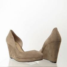 Women's BCBGeneration Montreal Shoes Wedge Heels Taupe Size 8 M NEW!