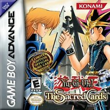 Yu-Gi-Oh: Sacred Card GBA New Game Boy Advance