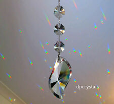 Suncatcher Hanging Crystal Rainbow Prism Feng Shui made using Swarovski Octagons
