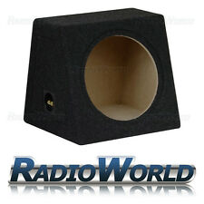 "30L 12"" MDF Sub Box Subwoofer Enclosure Bass Empty Enclosure Black carpet"
