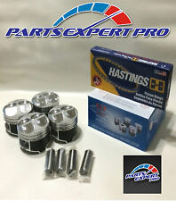 YCP 81MM HIGH COMPRESSION PISTONS & RINGS ACURA INTEGRA CIVIC SI TYPE R B16 B18