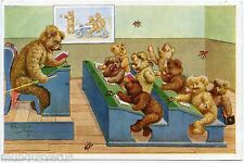 ARTIST SIGNED. ARTHUR THIELE. OURS HUMANISéS. SCHOOL. HUMANIZED BEARS.