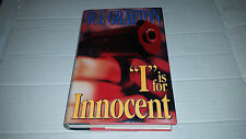 Kinsey Millhone: I Is for Innocent by Sue Grafton (1992) SIGNED 1st/1st