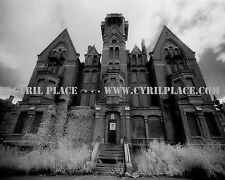 Danvers State Hospital Kirkbride Asylum B&W Infrared Photograph 8x10 Cyril Place